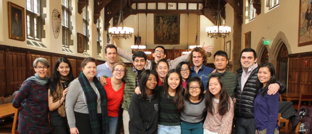 Banner - Yale trip