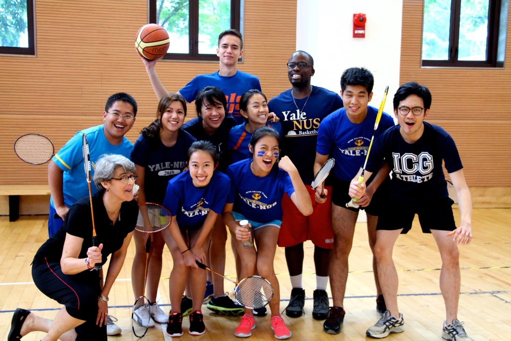Sport story 1st inter-residential College games