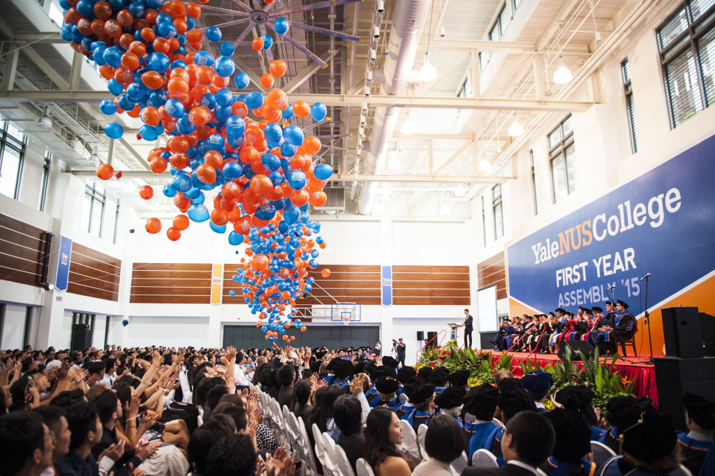 FYA 15 Balloon drop