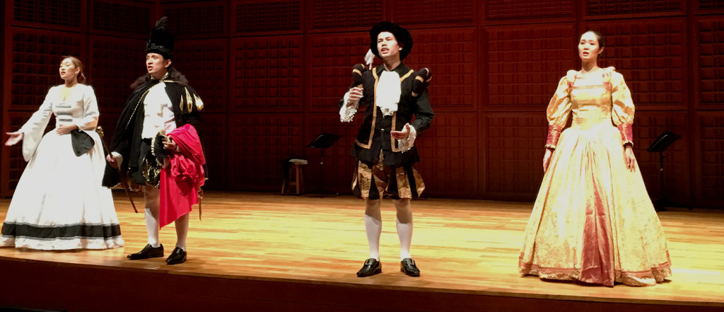 spanish cervantes performance