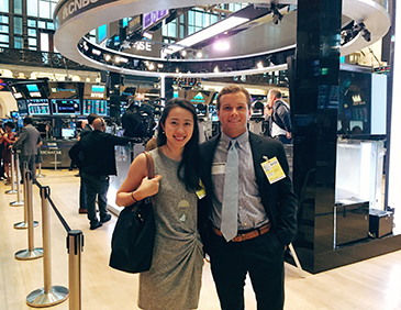 Colette at NYSE (featured)
